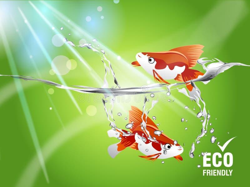 Concept environnemental illustration de vecteur