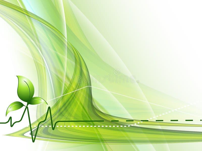 Concept environnemental de vecteur. Eps10 illustration stock