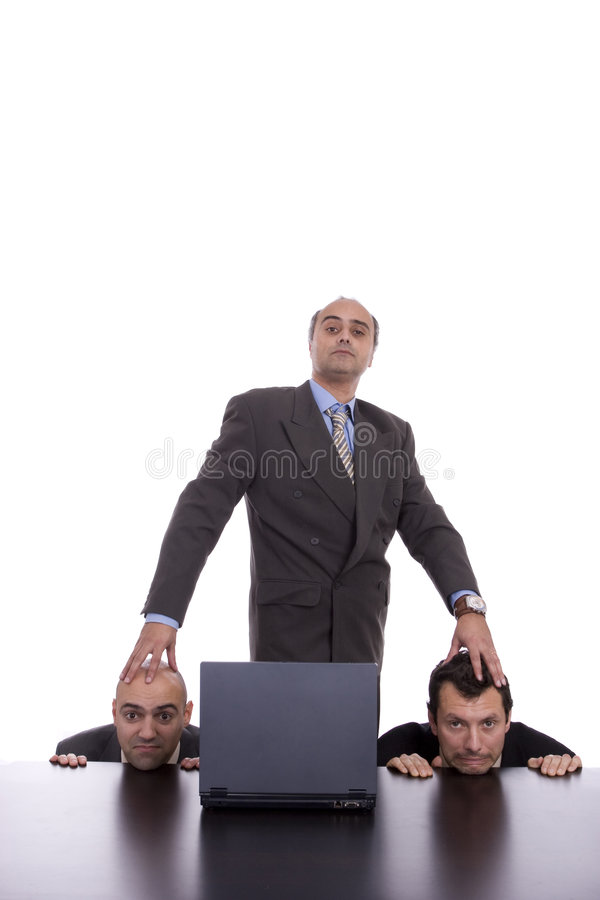 Download Concept Of An Evil Boss And His Team Stock Image - Image: 9149985