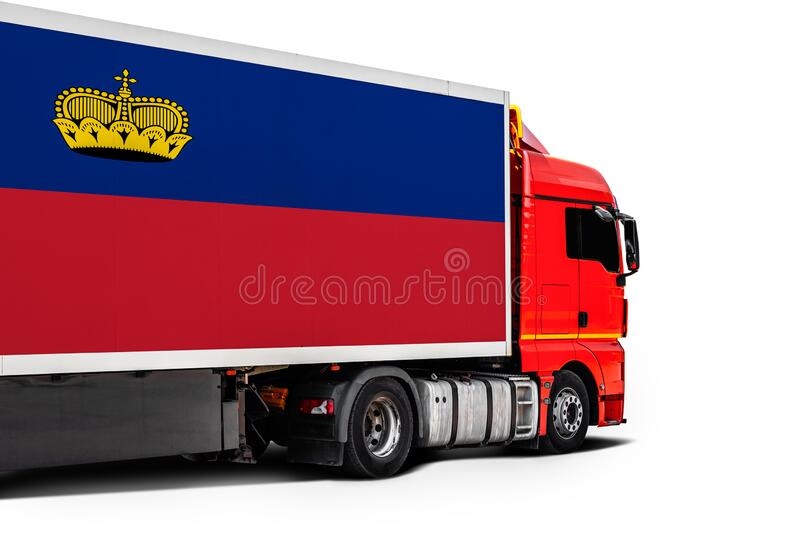Concept of export-import,transportation, national delivery of goods stock image