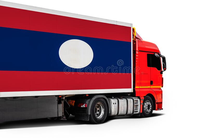 Concept of export-import,transportation, national delivery of goods stock images