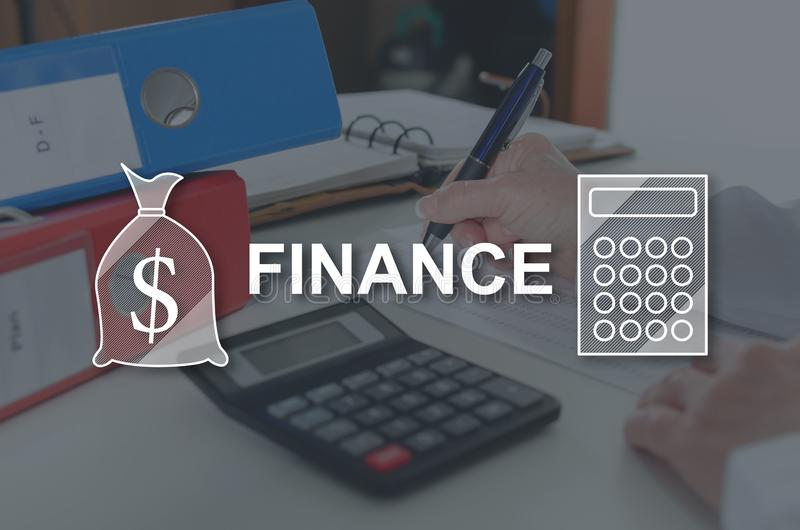 Concept of finance royalty free stock images