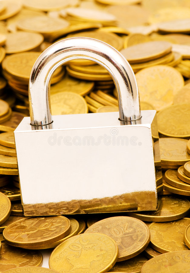 Download Concept Of Financial Security Stock Photo - Image: 9235622