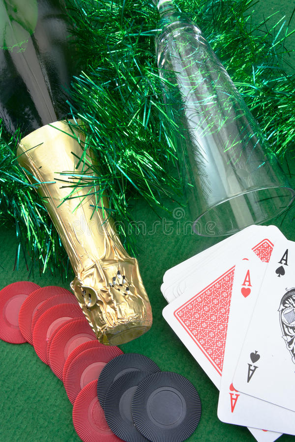 Concept of gambling stock photography