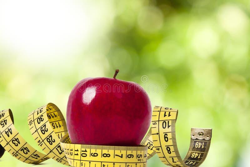 Concept gezonde voeding stock fotografie