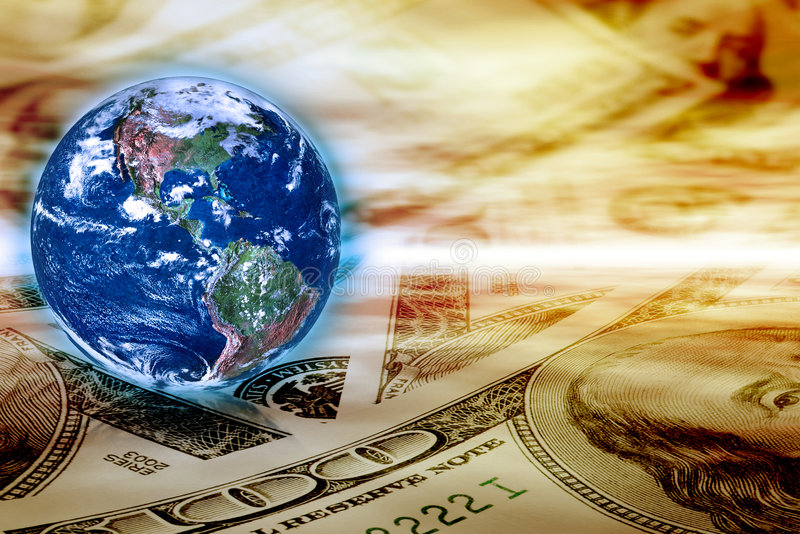 Concept of global business stock image