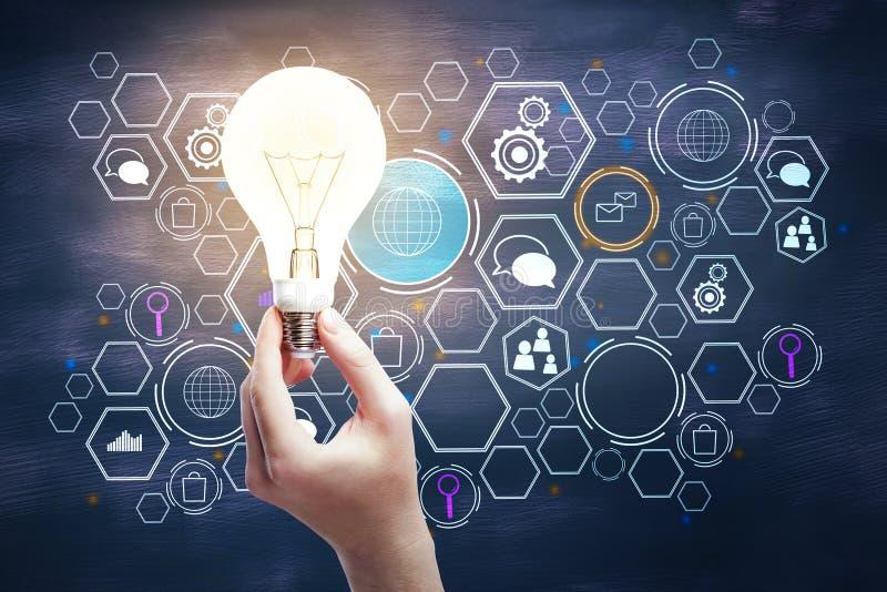 Concept global d'innovation photos stock