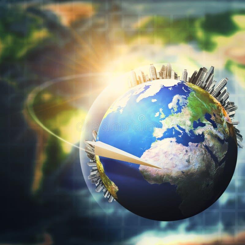 Concept global de développement durable photographie stock