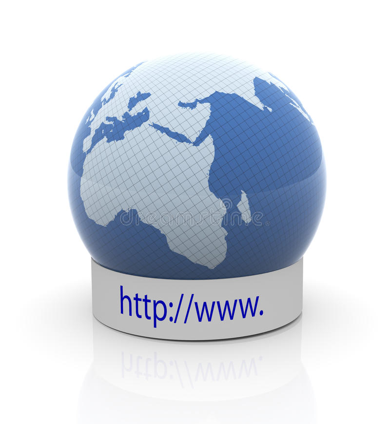 Download Concept Of Global Web Browsing Stock Illustration - Image: 19610135