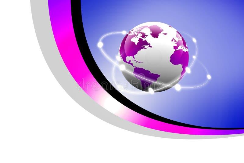 Concept globale aanslutingen vector illustratie
