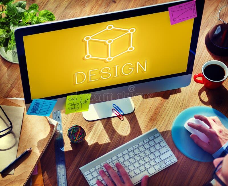 Concept graphique visuel d'Art Notion Scheme Thought Vision image stock