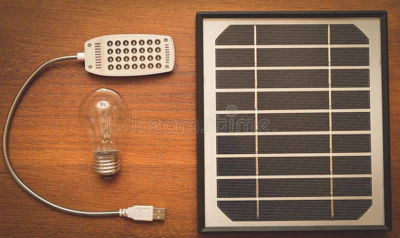 The concept of green energy royalty free stock image