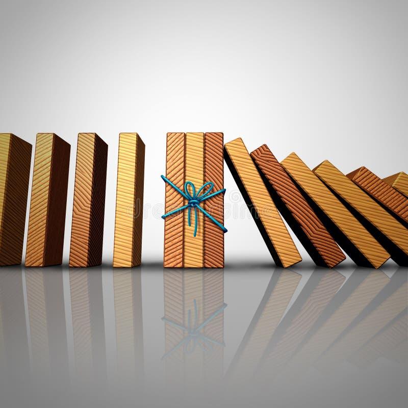 Concept groepswerk stock illustratie