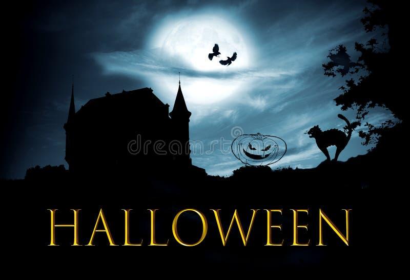 Concept Halloween stock afbeelding