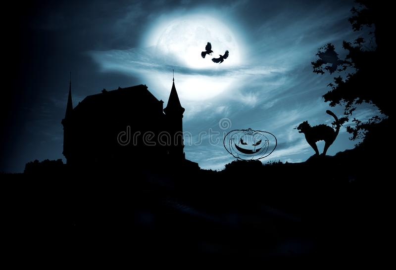 Concept Halloween stock afbeeldingen