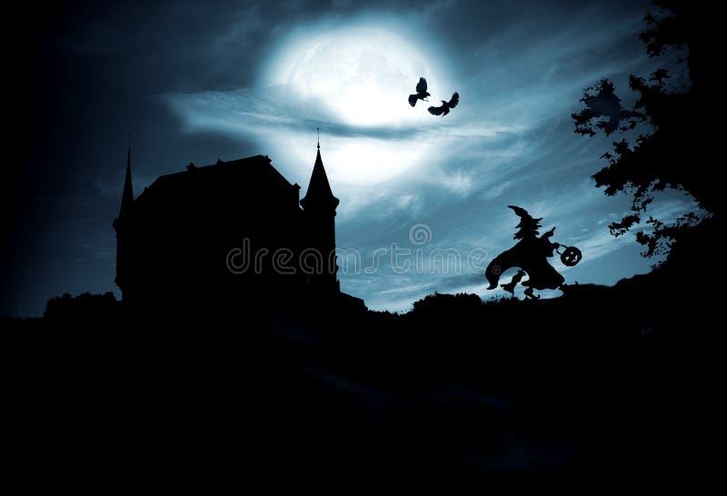 Concept Halloween royalty-vrije stock afbeelding