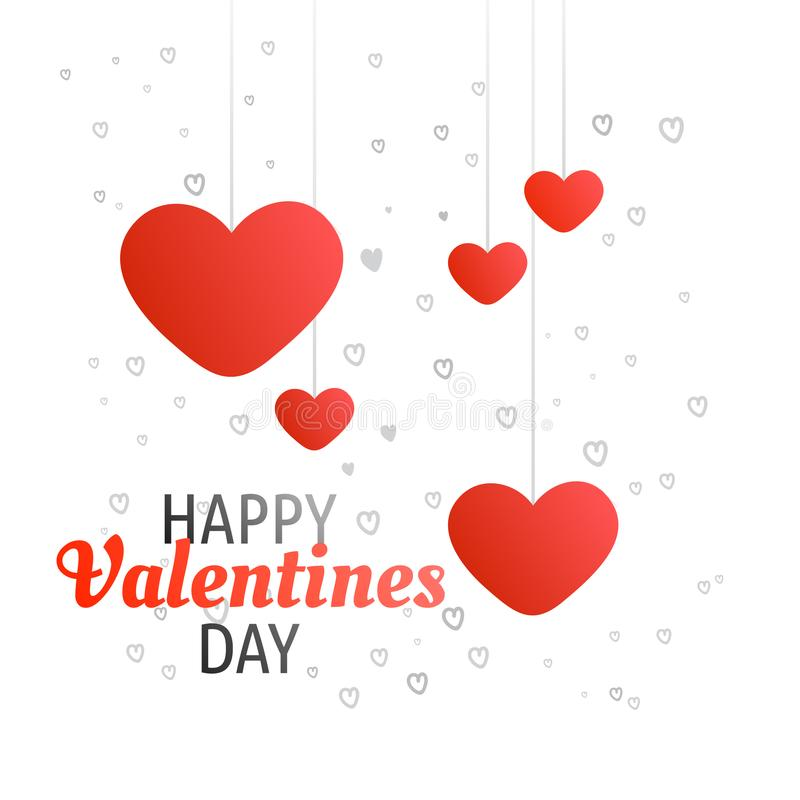 Concept Happy Valentines Day Greeting Calligraphy with Heart Pat stock photography