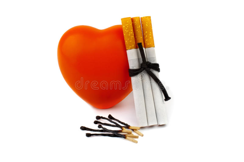 Download Concept - harm of smoking stock photo. Image of finishing - 18159210