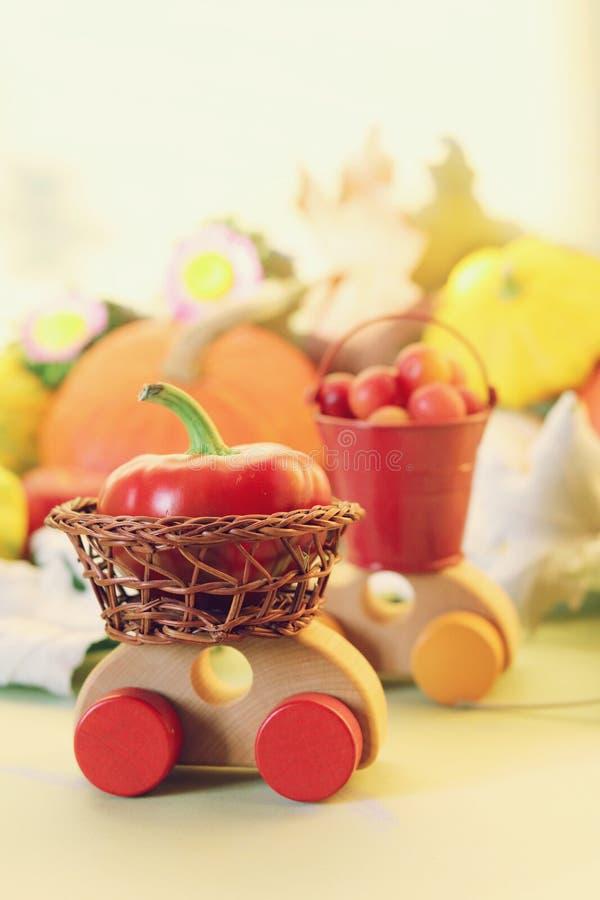 Concept of harvesting, natural abundance, Thanksgiving, Halloween stock images