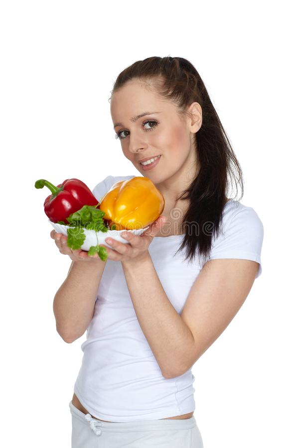 Concept of healthy food stock image