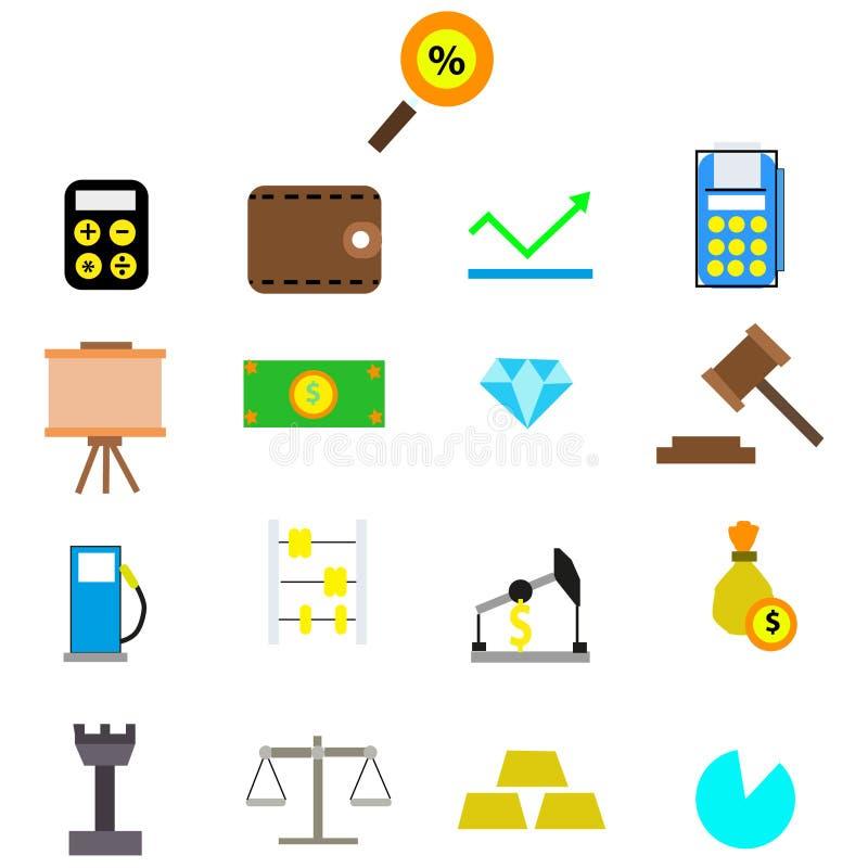Concept het bedrijfs van Finans, dit is een 3d teruggegeven computer geproduceerd beeld royalty-vrije illustratie