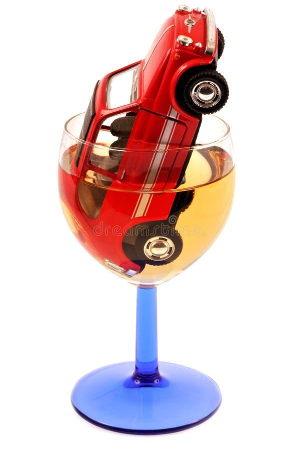 Concept het drinken en het drijven stock foto's