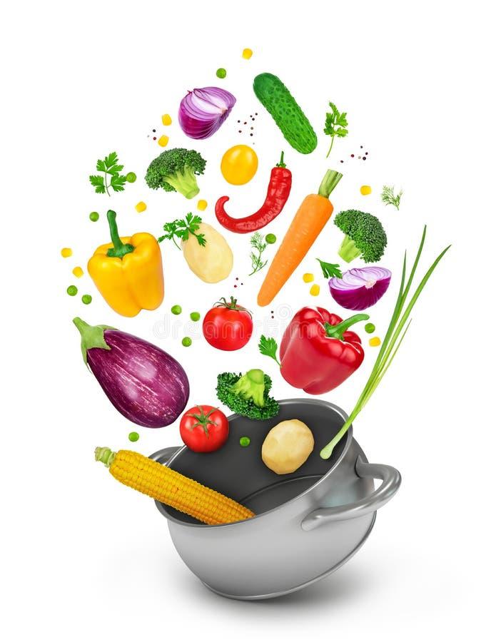 Concept het gezonde eten stock fotografie