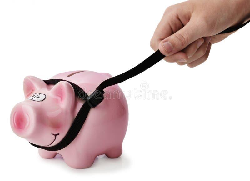 Concept het houden van begroting onder controle royalty-vrije stock afbeeldingen