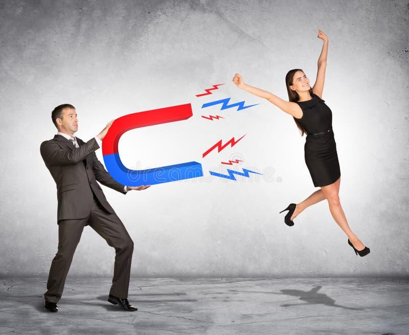 Concept het vangen van mensen met marketing stock foto's