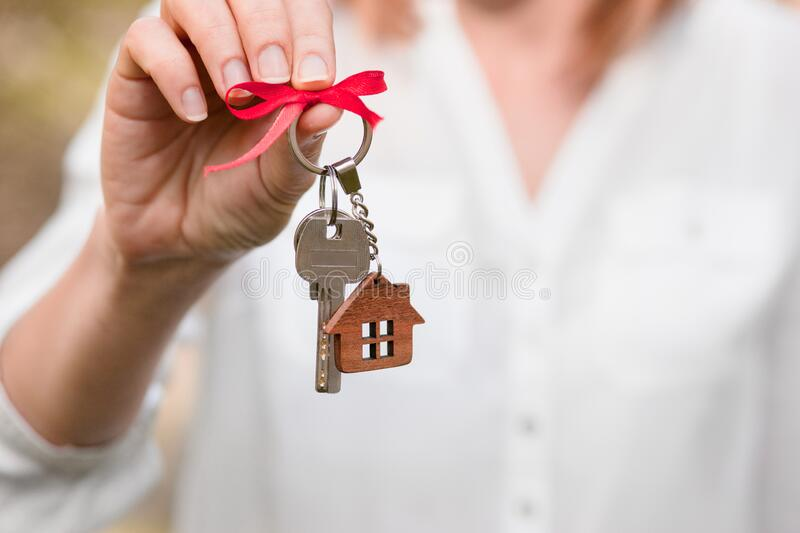 Concept of home ownership. Real estate and property royalty free stock images