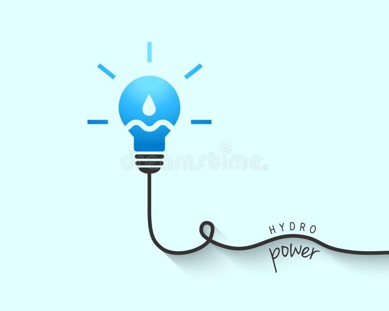 Concept hydraulique de puissance illustration stock