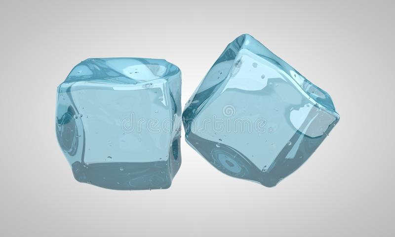 Concept of ice stock illustration