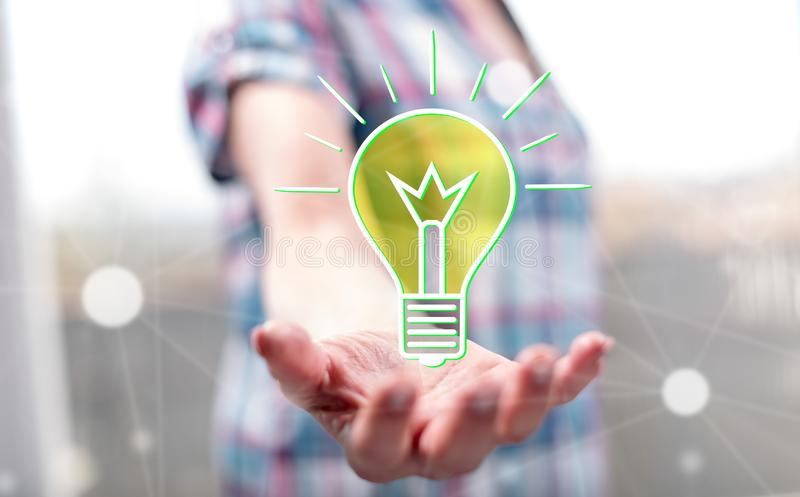 Concept of idea stock images