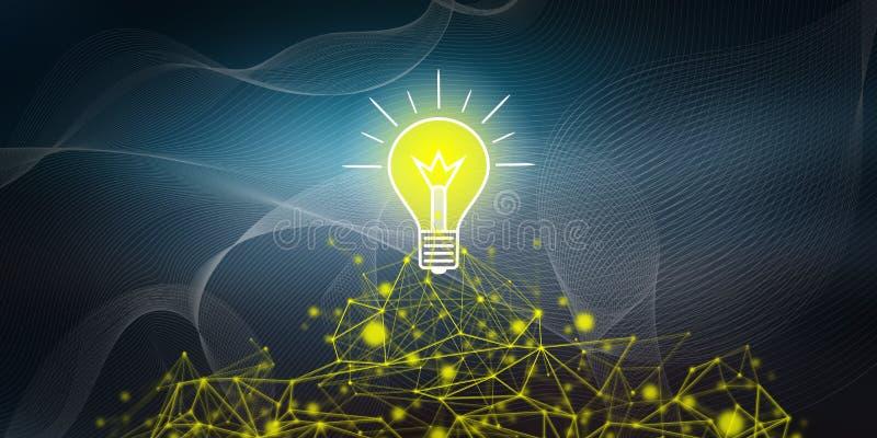 Concept of idea stock illustration