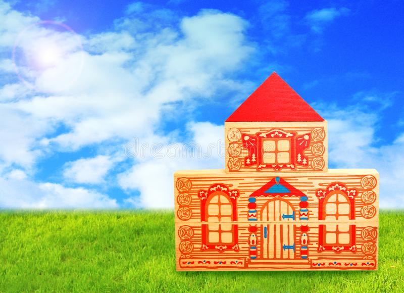 Concept of ideal home royalty free stock image
