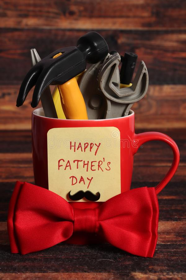 Happy father`s day stock images