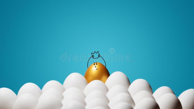 Concept individualiteit, exclusiviteit, betere keus stock foto