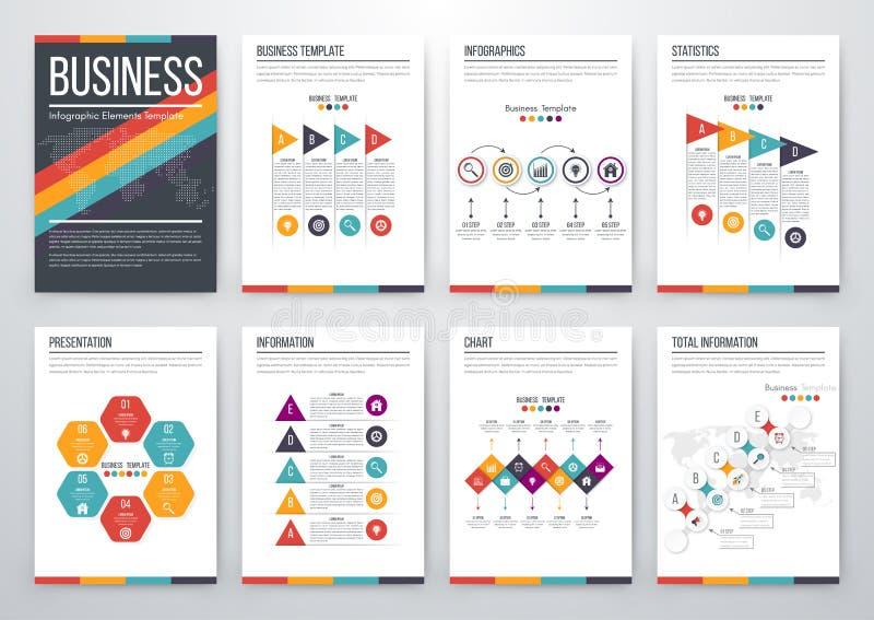Concept infographic moderne de vecteur illustration libre de droits