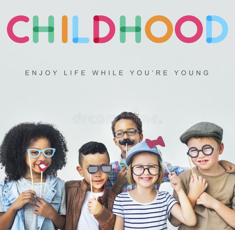 Concept innocent de jeunes d'enfant d'enfants d'enfants photos stock