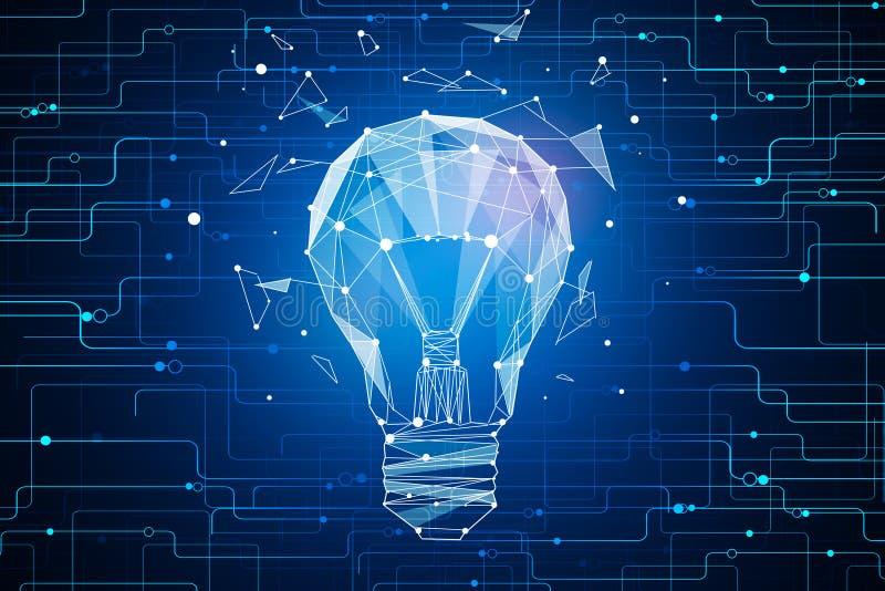 Concept innovateur d'idée illustration stock