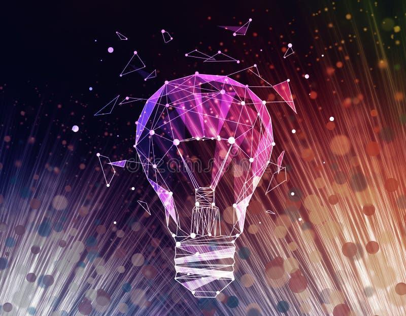 Concept innovateur d'idées illustration de vecteur