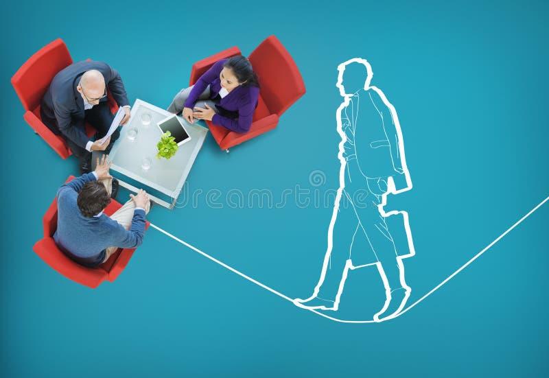 Concept instable de sécurité d'assurance de gestion des risques images stock