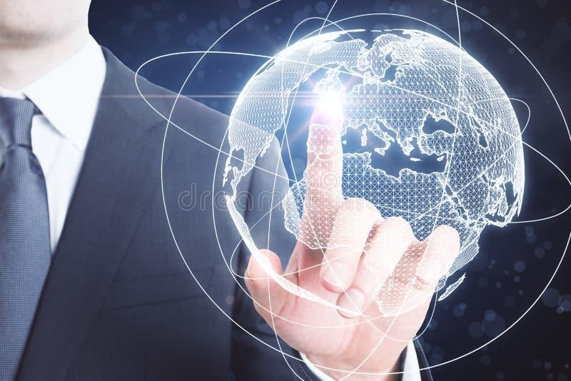 Concept international d'affaires photo stock