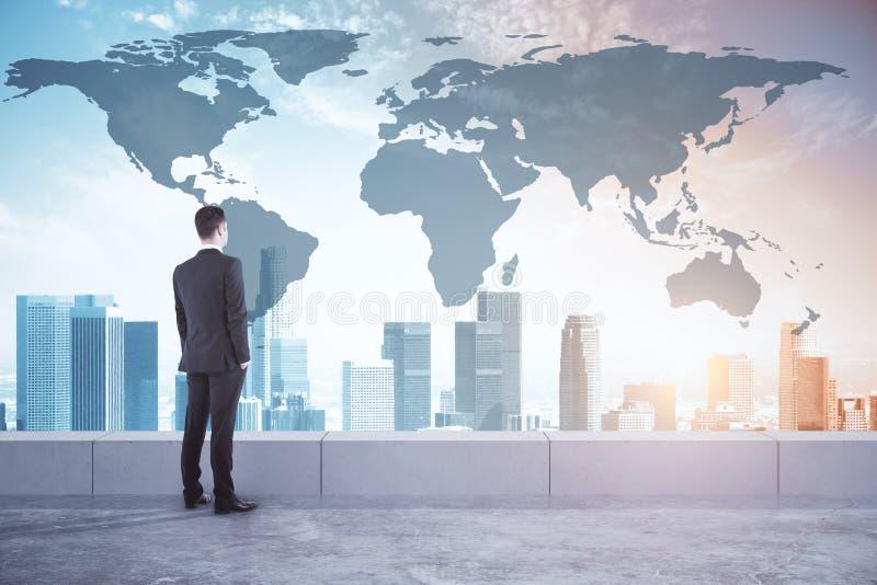 Concept international d'affaires et de recherches photos stock