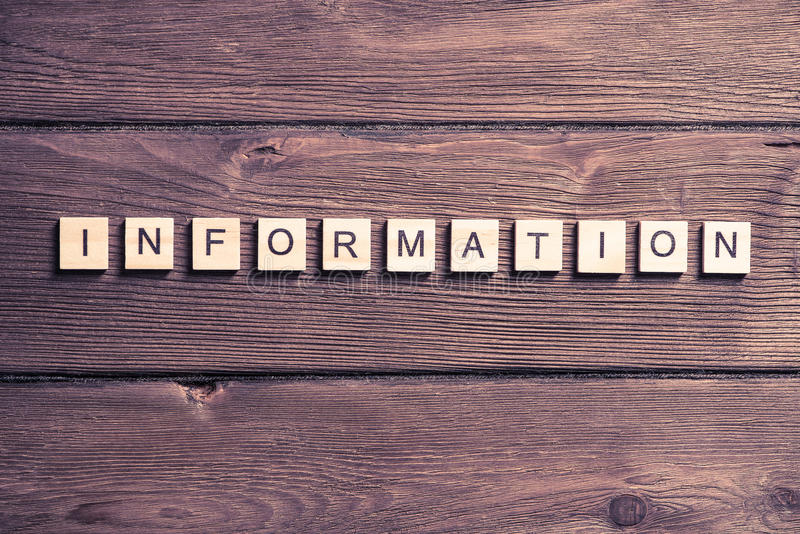 Concept of internet communication. Internet media conceptual word collected of wooden elements with the letters stock photo