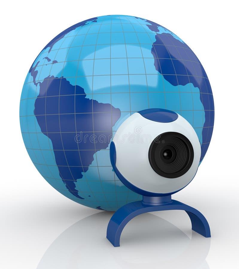 Download Concept Of Internet Communications Stock Illustration - Illustration: 27007684
