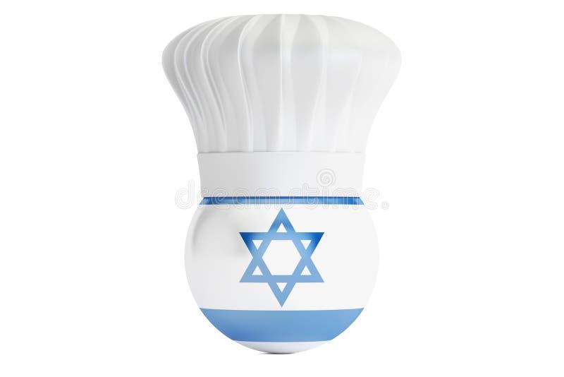 Concept israélien de cuisine illustration de vecteur