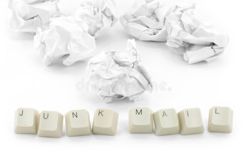Download Concept of junk mail stock photo. Image of garbage, wrinkle - 1675786