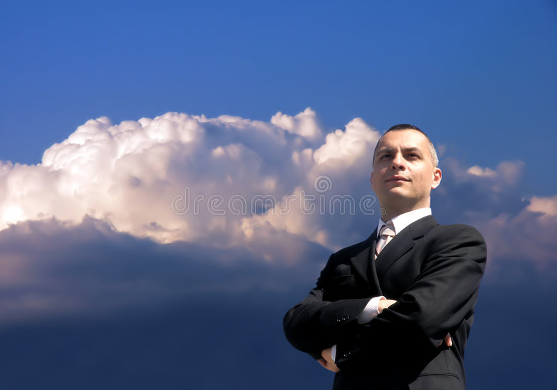 Concept of Leadership . royalty free stock images