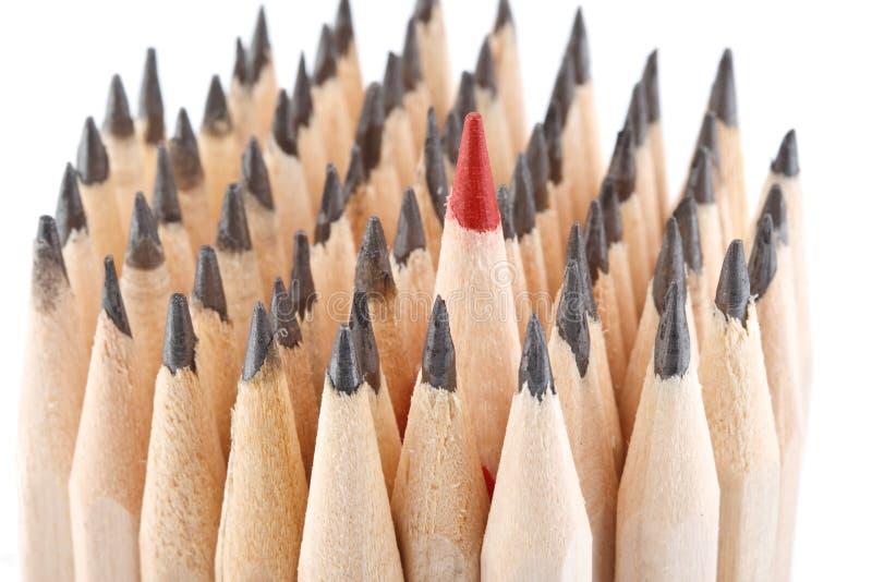 Concept of leadership stock photos